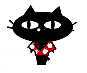 黒ネコ7 アロハ