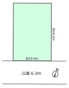 豊町1丁目 区画図2