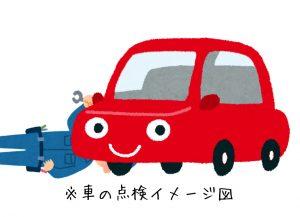 車点検イメージ図